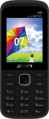 Zen x45 Big screen (Black, )