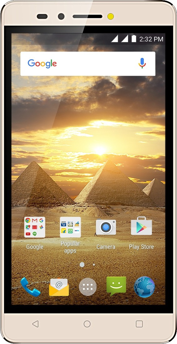 Karbonn Aura Power (Champagne, 8 GB)(1 GB RAM)