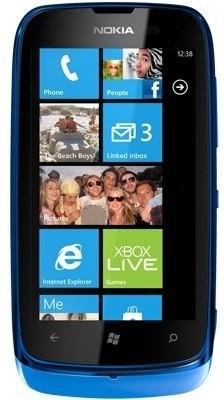 Nokia Lumia 610 (256MB RAM, 8GB)
