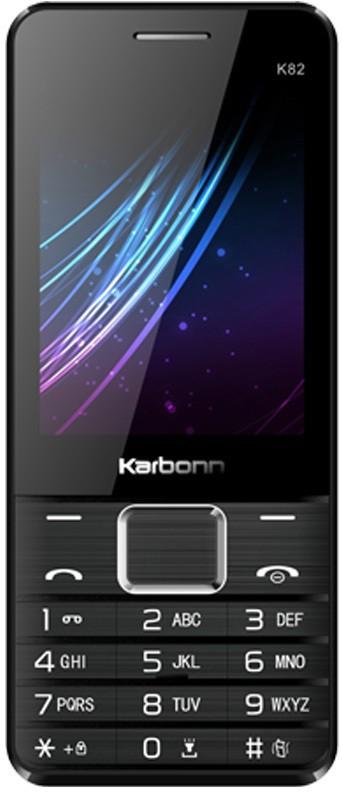 Karbonn K82 Dual Sim - Black & Red(Red)