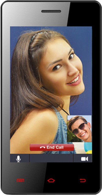 Celkon A403 (Red, 4 GB)(512 MB RAM)