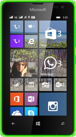 Microsoft Lumia 532 (Bright Green, 8 GB)(1 GB RAM)