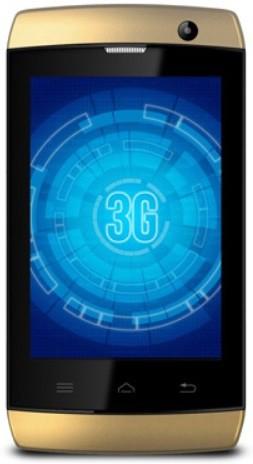 Karbonn A1 Plus Champ - 3G (Champagne, 512 MB)(256 MB RAM)