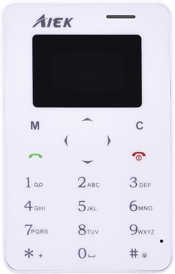 AIEK X6 Credit Card Size(White)