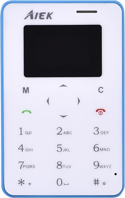 AIEK X6 Credit Card Size(Blue)