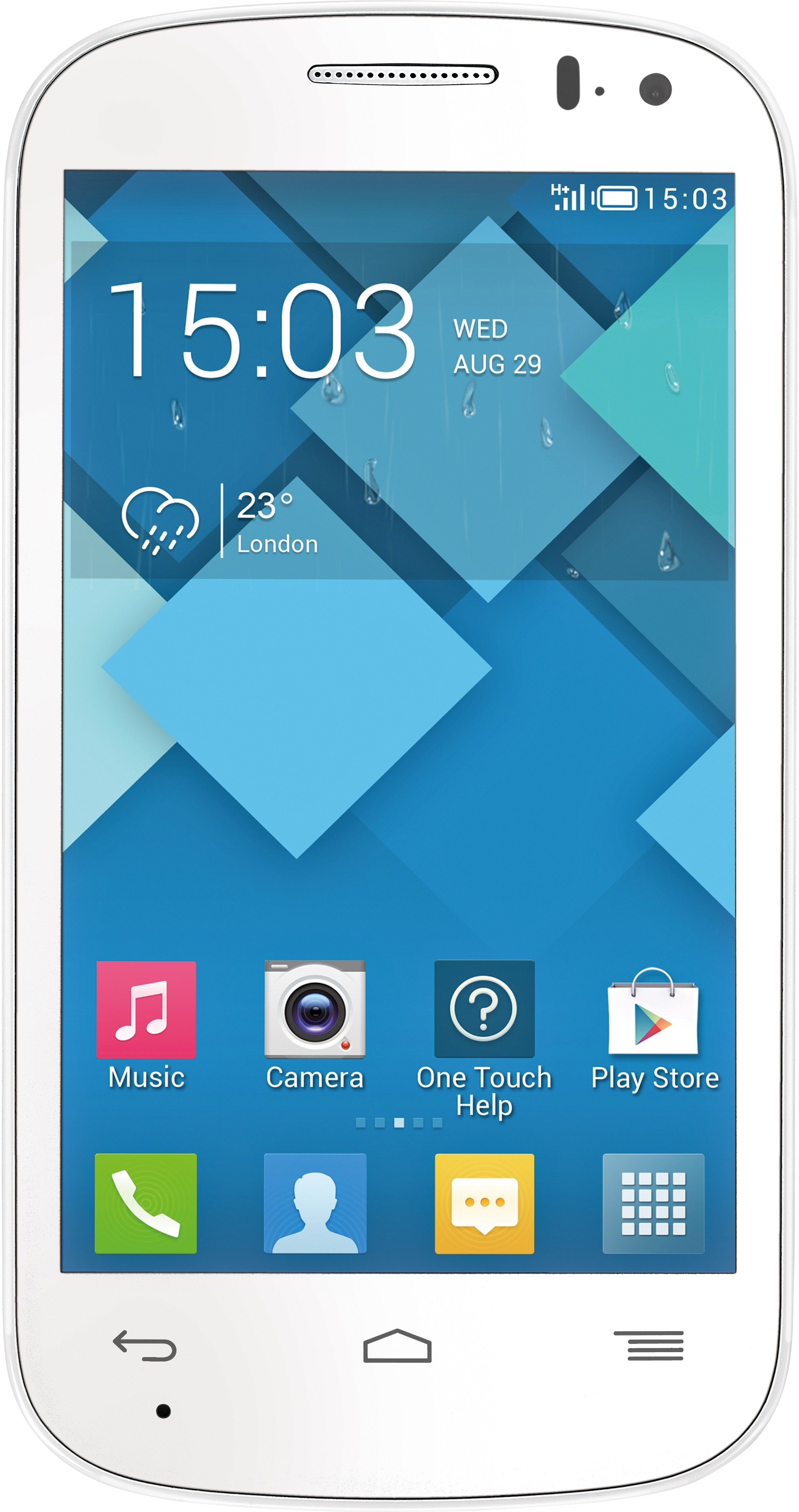 Panasonic T31 (White, 4 GB)(512 MB RAM)