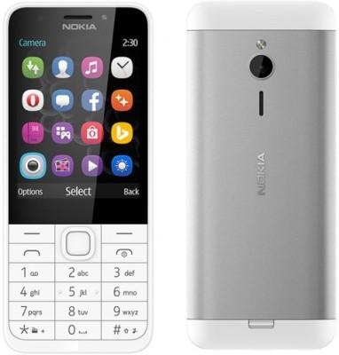 Nokia 230 (White, 10 MB)