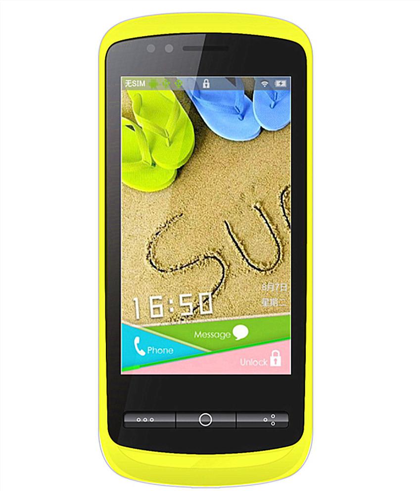 Forme F520 (Yellow, 4 GB)(512 MB RAM)