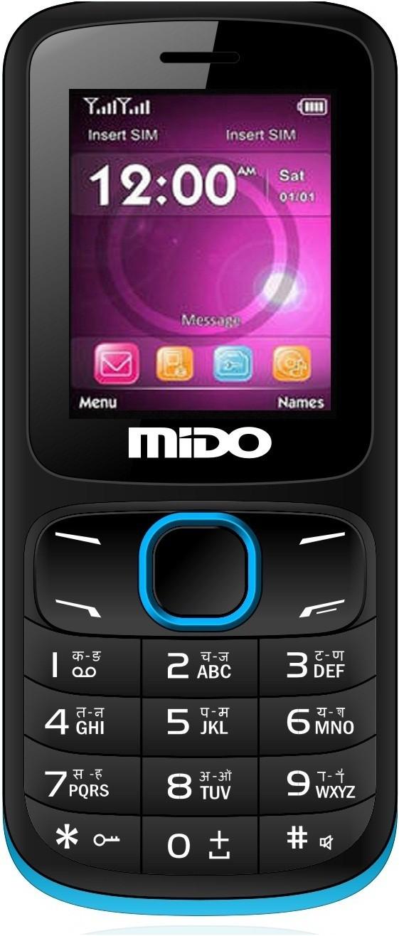 Mido D15(Black & Blue)