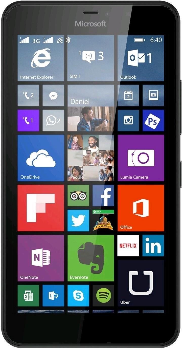 View Microsoft Lumia 640 LTE (Black, 8 GB) Mobile Price Online(Microsoft)