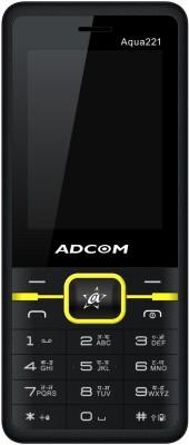 Adcom Aqua 221(Black and Yellow)