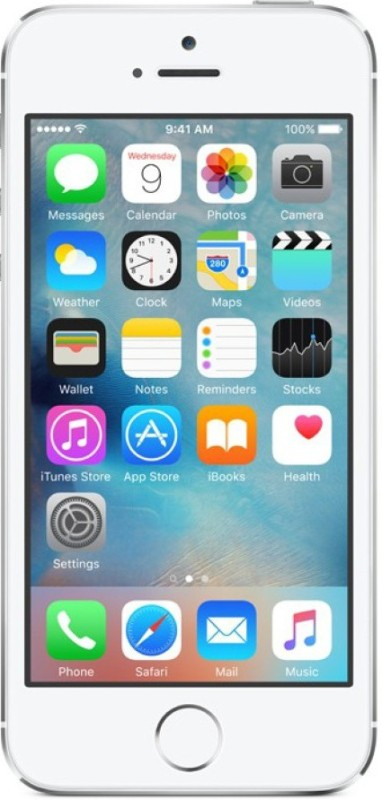 Apple iPhone 5s (Silver, 16 GB)(1 GB RAM)