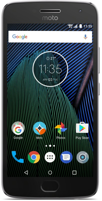 Moto G5 Plus (Lunar Grey, 16 GB)(3 GB RAM)