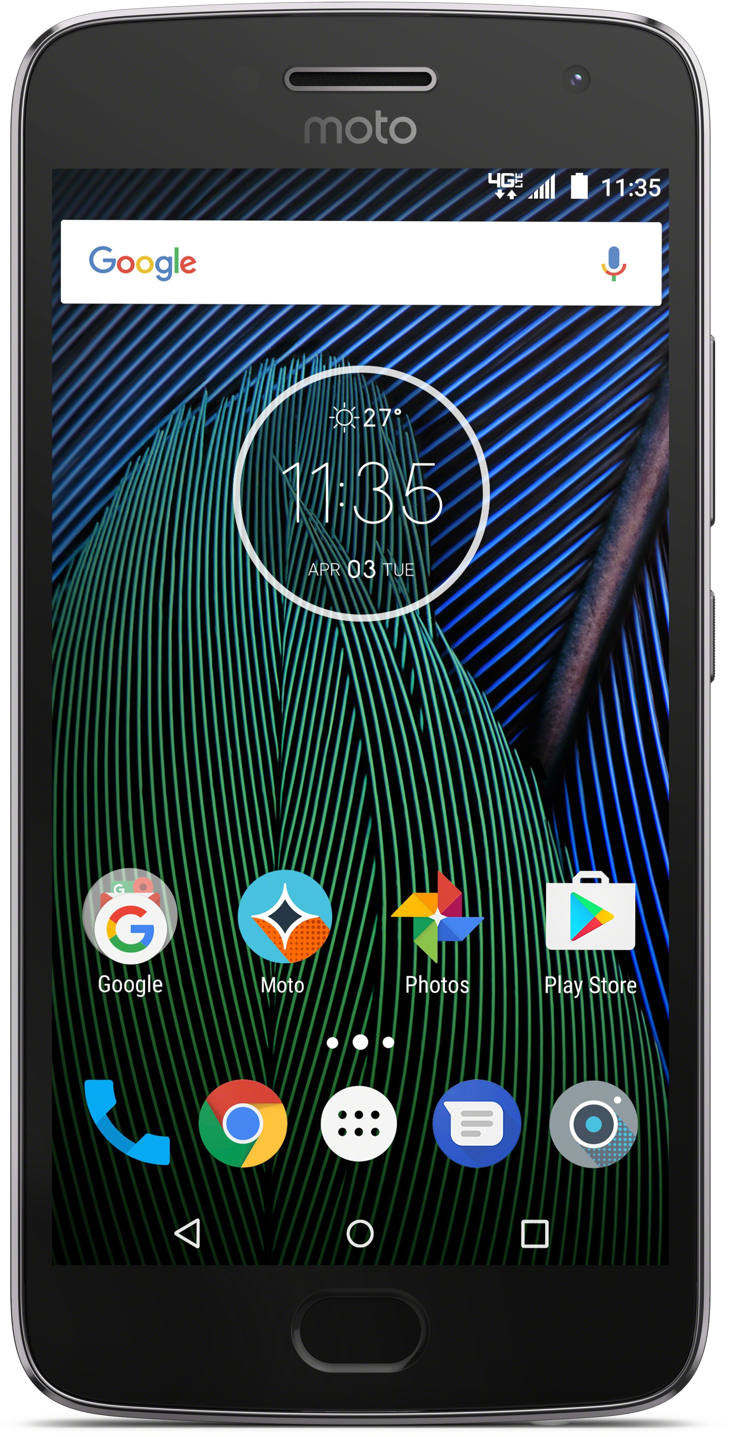 View Moto G5 Plus (Lunar Grey, 32 GB)(4 GB RAM) Mobile Price Online(Motorola)