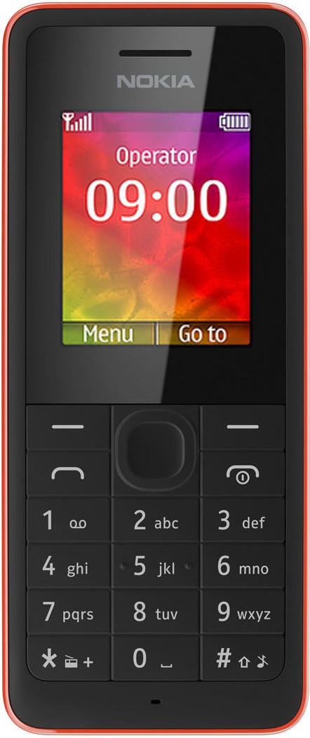 Nokia 106(Red)