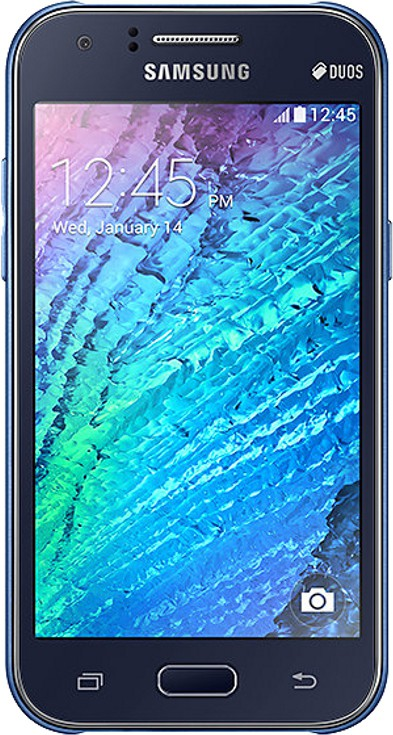 SAMSUNG Galaxy J1 (Blue, 4 GB)