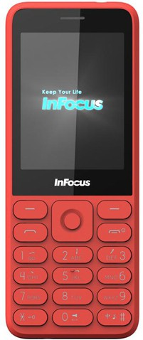 InFocus Dual Sim Phone(Red)