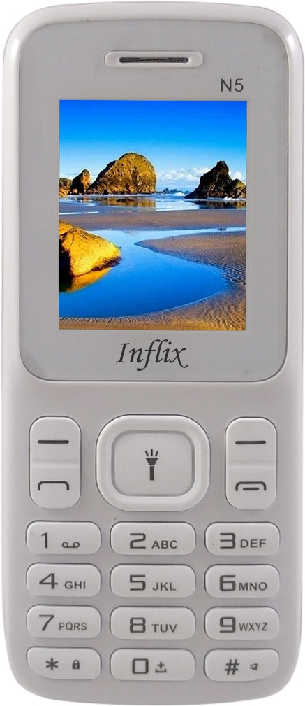 Inflix N5(White & Grey)