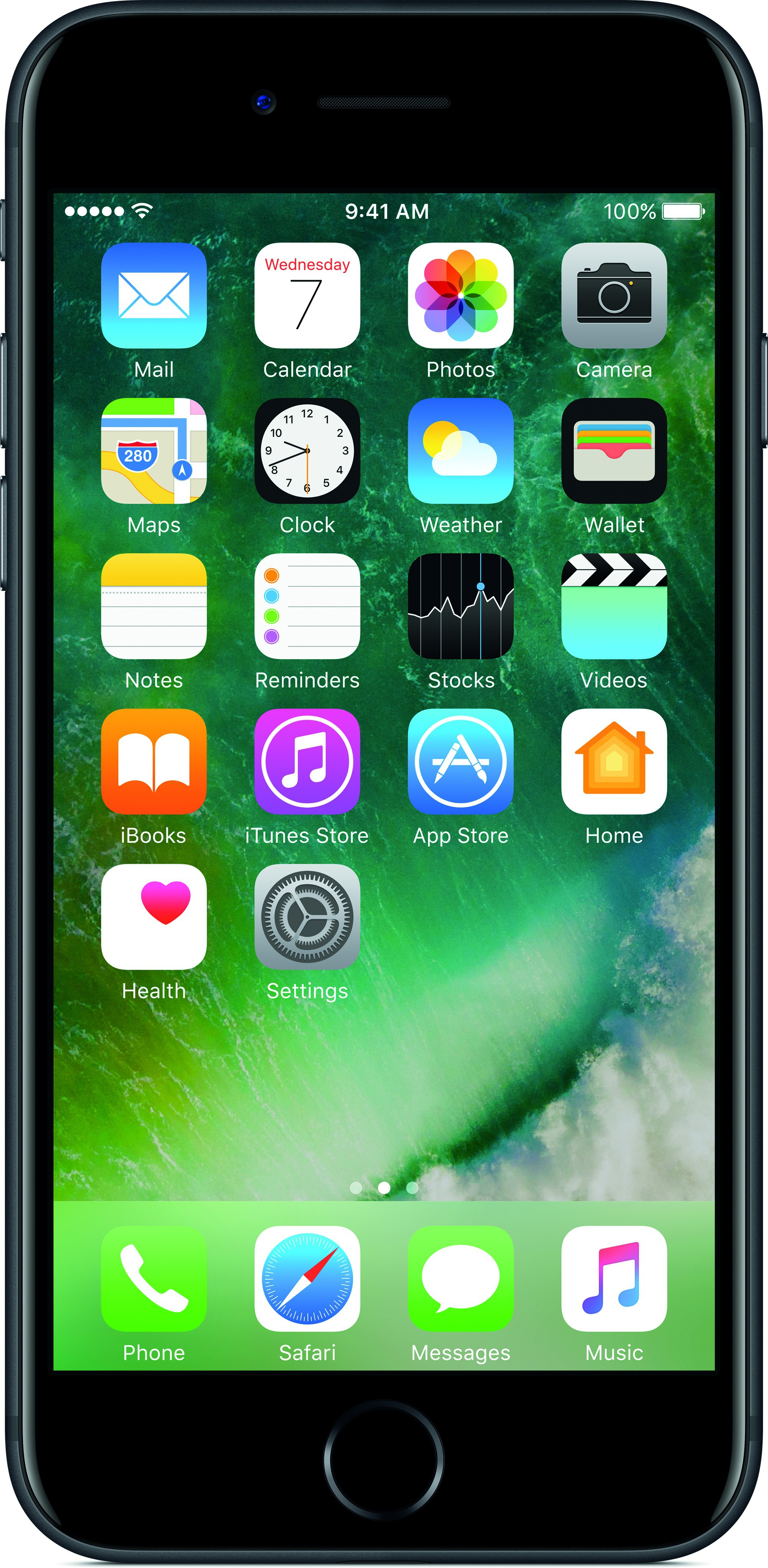 View Apple iPhone 7 (Black, 128 GB) Mobile Price Online(Apple)