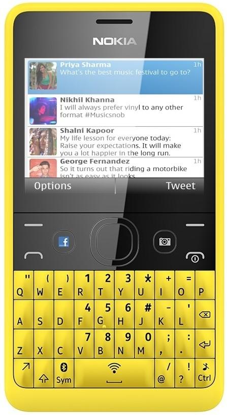 Nokia Asha 210(Yellow)