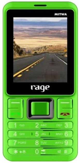 RAGE With Power Bank Feature(Green, Black)
