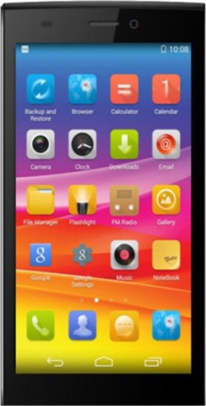 Micromax Canvas Nitro 2 (Grey & Silver, 16 GB)(2 GB...