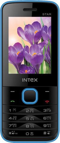 Intex Turbo Star(Black, Blue)