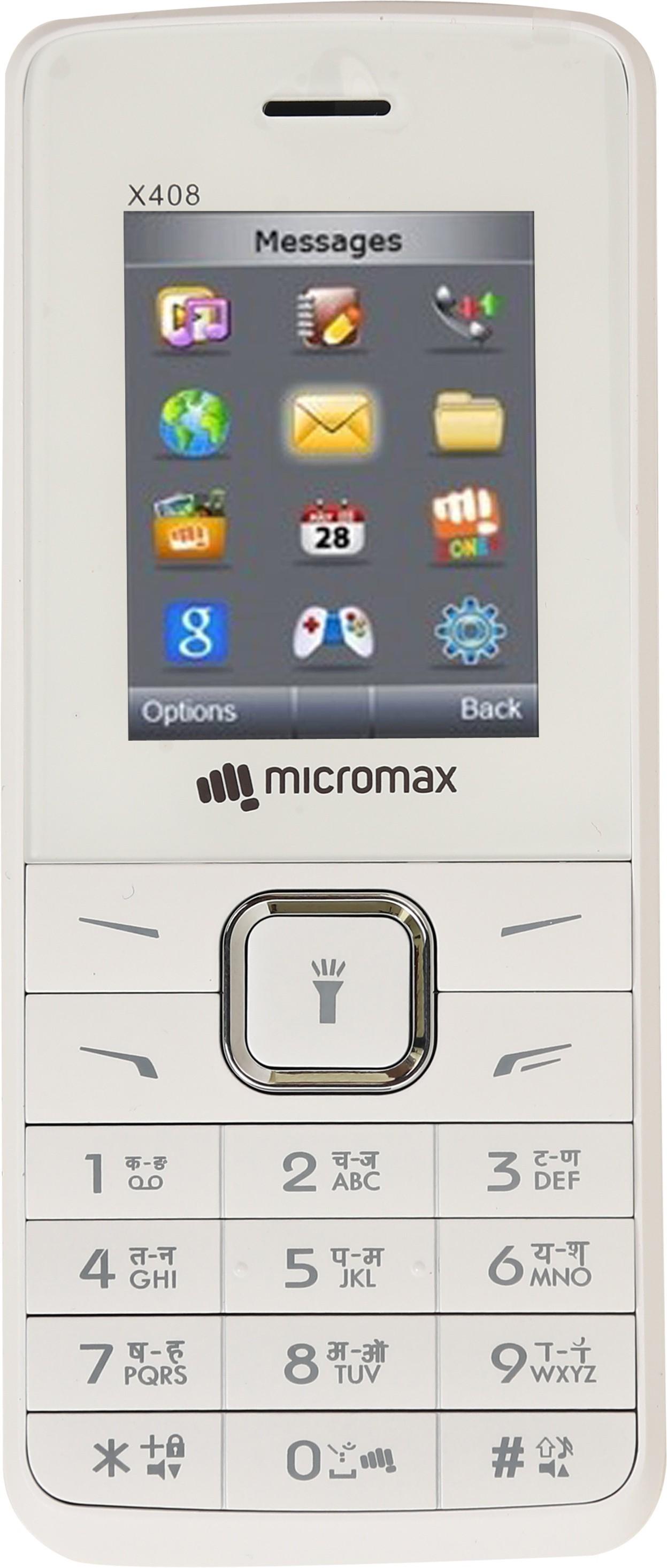 Micromax X408(White & Champagne)
