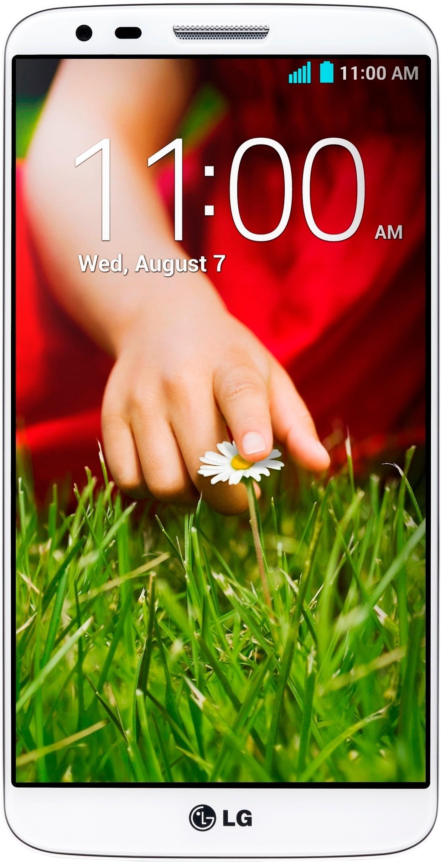 LG G2 D802 (White, 32 GB)(2 GB RAM)