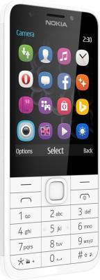 Nokia 230 (Silver, 256 MB)
