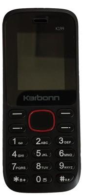 Karbonn K199 (Black, 512 KB)