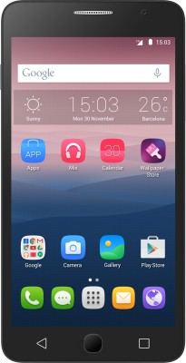 Alcatel OneTouch Pop Star (MetalSilver, 8 GB) (Metalu00a0Silver, 8 GB)