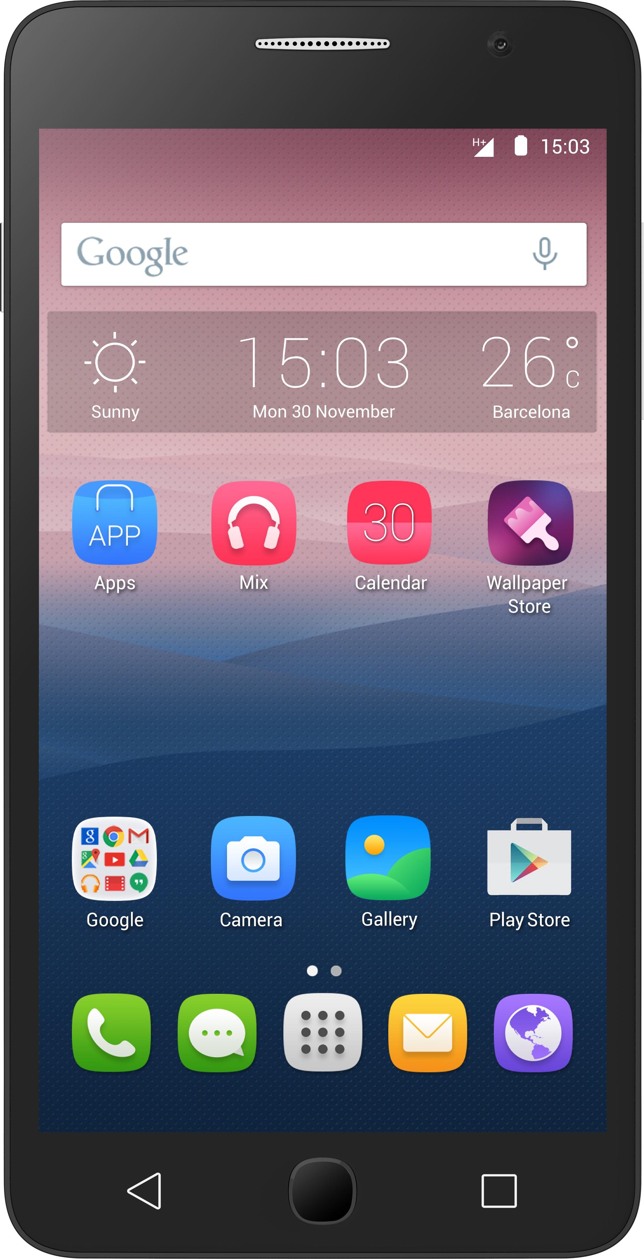Alcatel One Touch Pop Star (1GB RAM, 8GB)