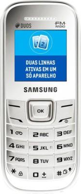 SAMSUNG E1207 Guru FM Dual Sim - White(White)