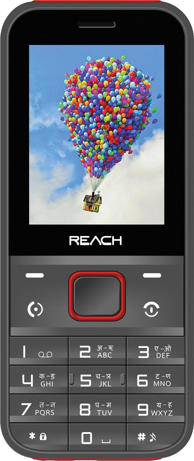 Reach Cogent Max(Grey & Red)