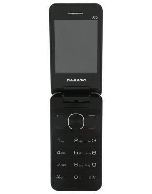 Darago X5 Flip (Gold, 128 MB)