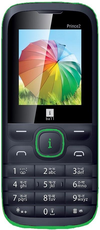 iBall PRINCE 2(Black, Green)
