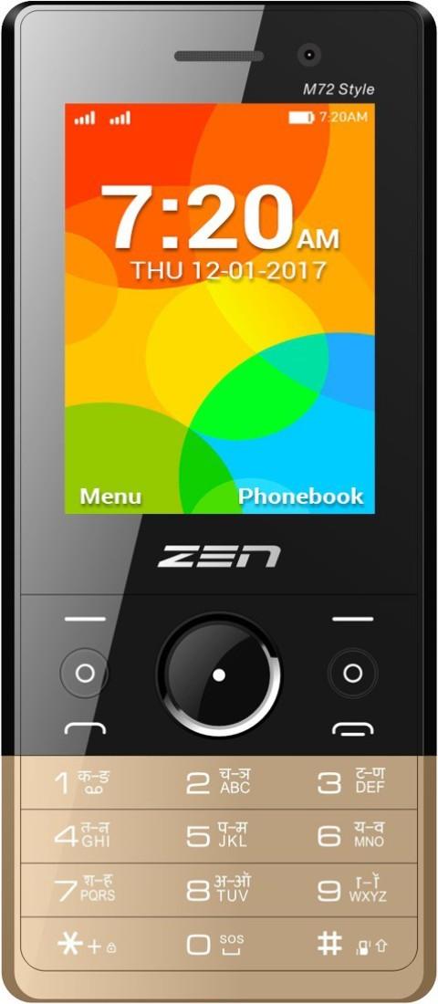 Zen M72 Style(Black & Gold)