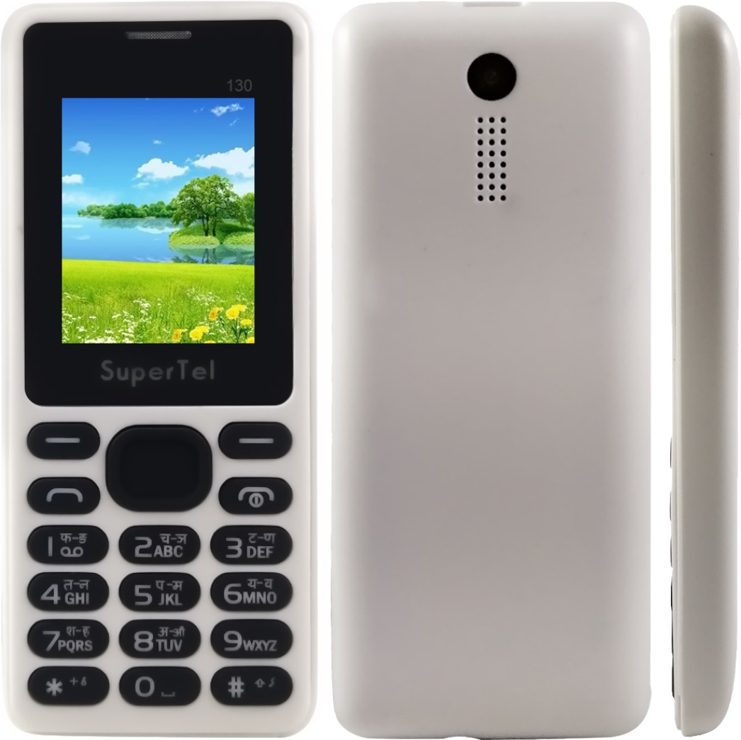 Supertel 130(White & Black)