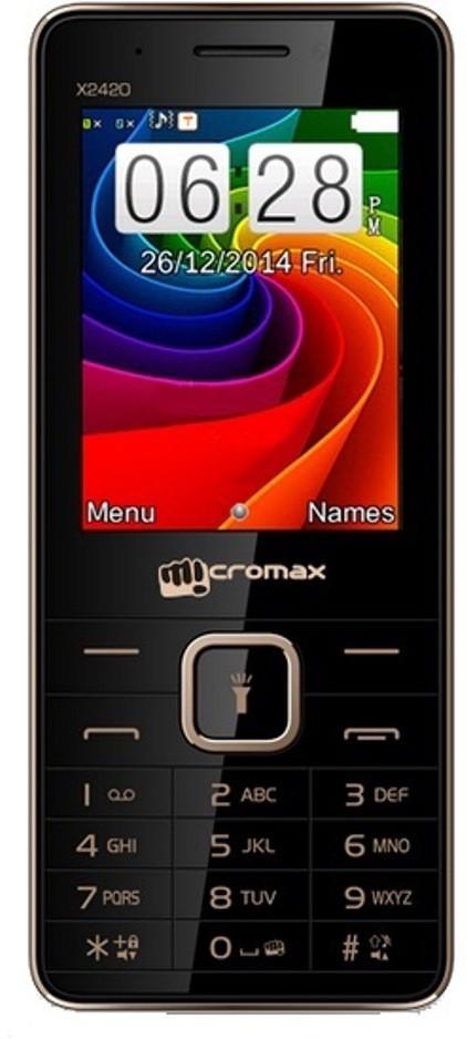 Micromax X2420(Black)