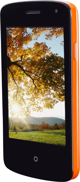 Spice Fire One Mi-FX1 (Orange, 256 MB)(128 MB RAM)