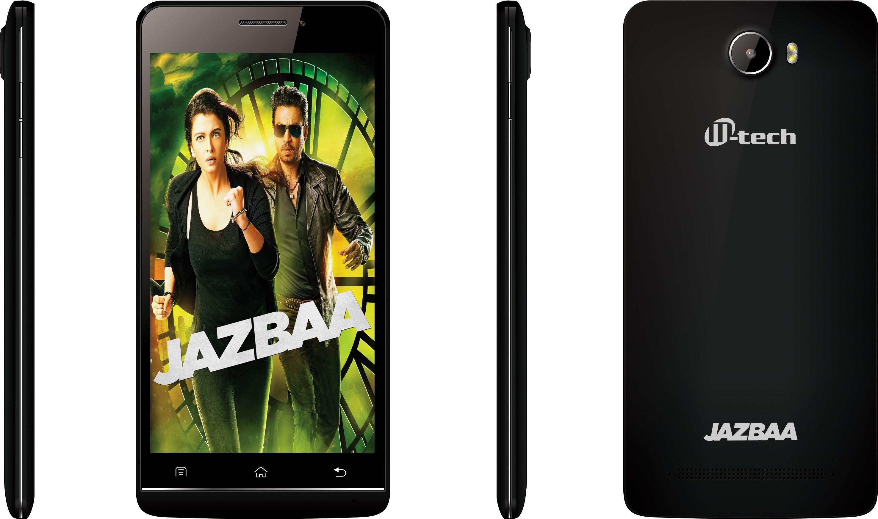 M-tech JAZBAA BLACK (Black, 16 GB)(2 GB RAM)