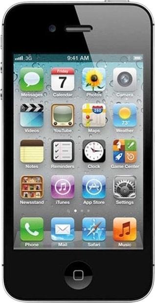 View Apple iPhone 4s (Black, 16 GB) Mobile Price Online(Apple)