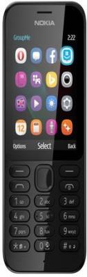 Nokia 222 (Black) (Black, )