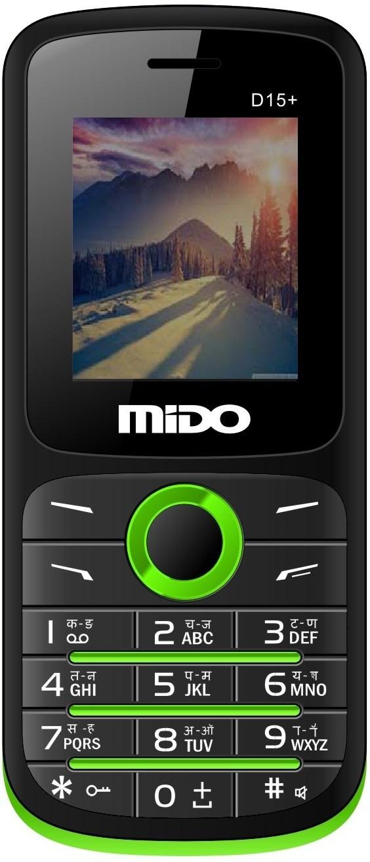 Mido D15+(Black & Green)