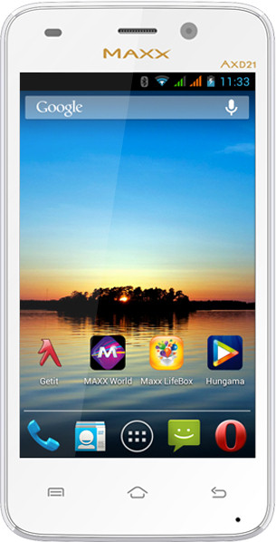 MAXX MSD7 Smarty-AXD21 (White, 4 GB)(512 MB RAM)
