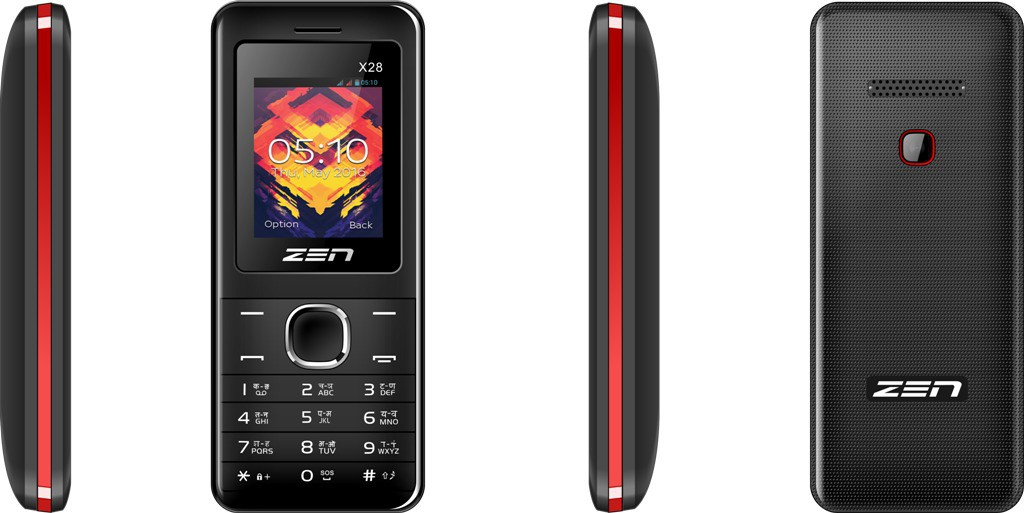 Zen X28(Black & Red)