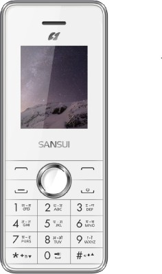 Sansui Z12 (White and Silver, 128 MB)
