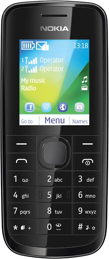 Nokia 114(Black)