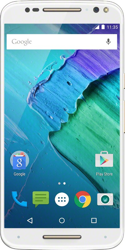 Moto X Style (White and Champagne, 16 GB)(3 GB RAM)
